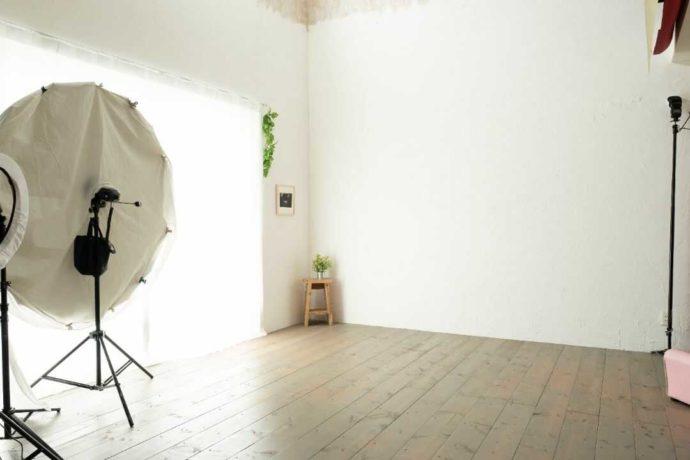 フォトシーズンのスタジオ風景