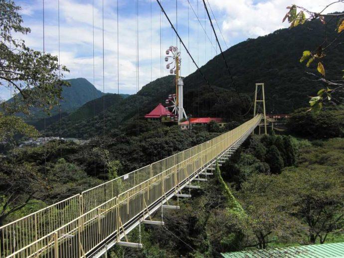 別府ラクテンチの大吊り橋
