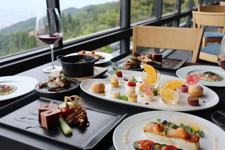 六甲山サイレンスリゾート グリルのスペシャルコース
