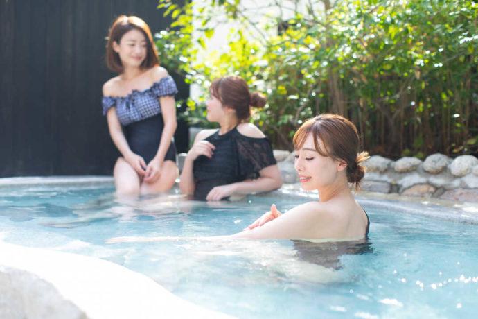 京都るり渓温泉 for REST RESORTの露天風呂