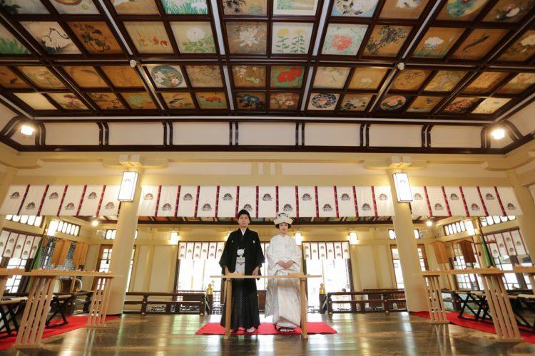 湊川神社の神前結婚式の流れ・メリット
