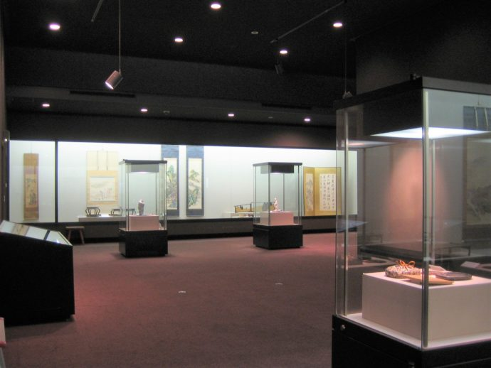 記念館内の展示の様子