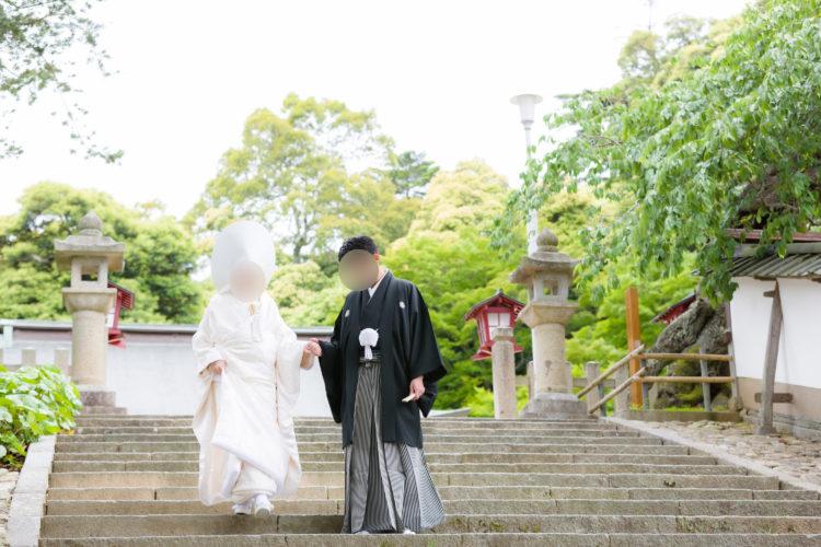 山王宮日吉神社の神前結婚式における申込予約について