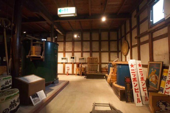 酒の民俗文化博物館の展示内容