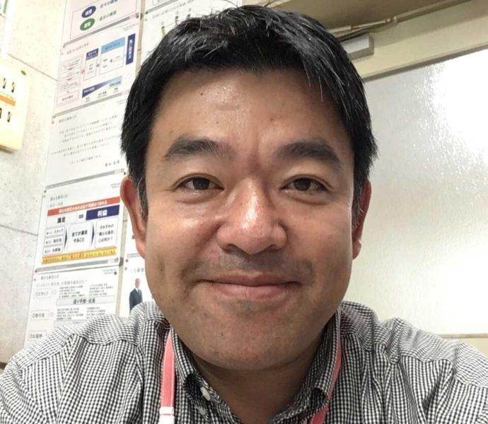鹿部カントリー倶楽部支配人の三塚さん