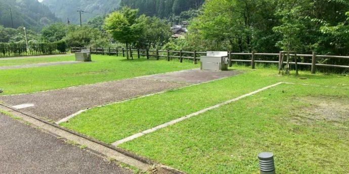 グリーンステーション鹿ヶ壺のオートサイト