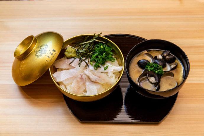 東京都千代田区にあるアンテナショップ・日比谷しまね館でいただけるのどぐろ丼