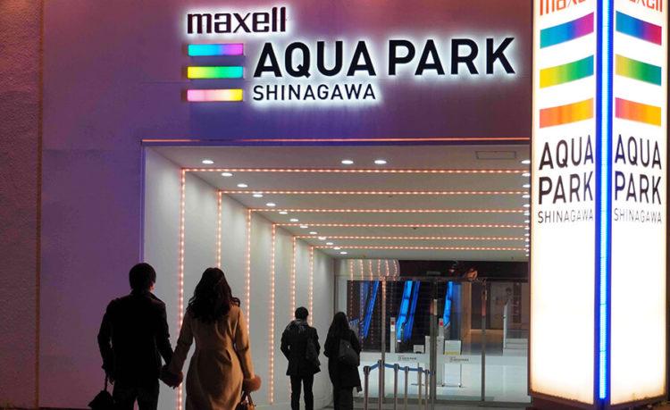 アクアパーク品川での夜デートプラン