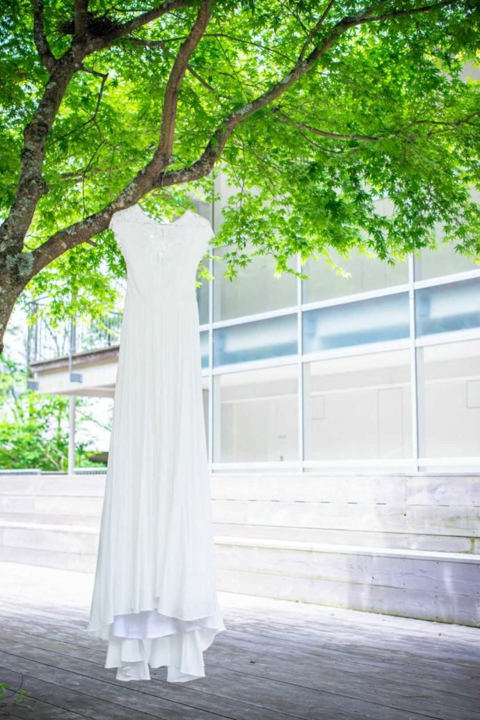 湘南プレミアムWeddingで着ることができる純白のドレス