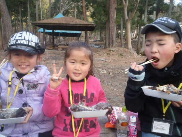 ベリーパークinフィッシュオン!鹿留で魚を味わう子供達