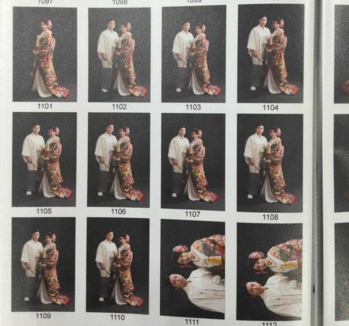 山形県・宮城県でフォトウェディングを行う「ソルテール」で写真を選ぶ際のイメージ