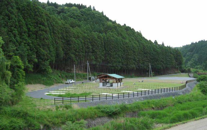 清流の森大川原峡キャンプ場の施設