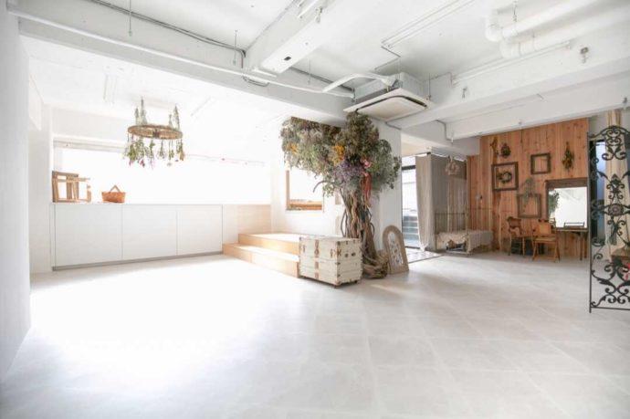 Irodori studioのスタジオ室内風景