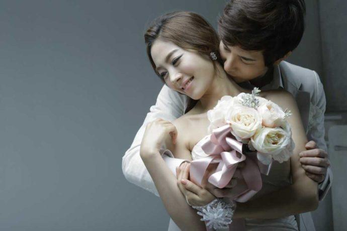 LUXEではおしゃれな雰囲気の結婚写真が撮影できる