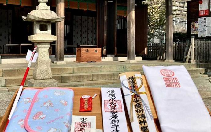 太田杉山神社・横浜水天宮で購入できるお守りなど