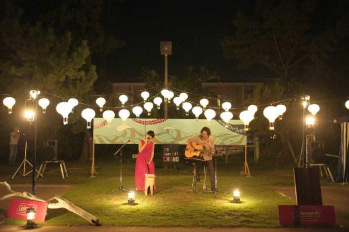 茨城県東茨城郡にある大洗サンビーチキャンプ場で開催されたライブイベント