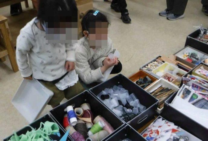 ゴミラプロジェクトに参加する子どもたち