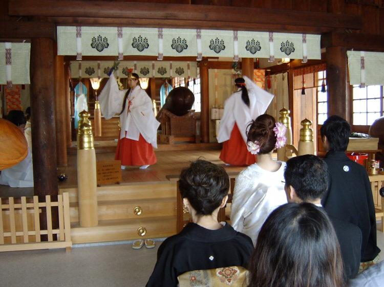 田縣神社の神前結婚式について