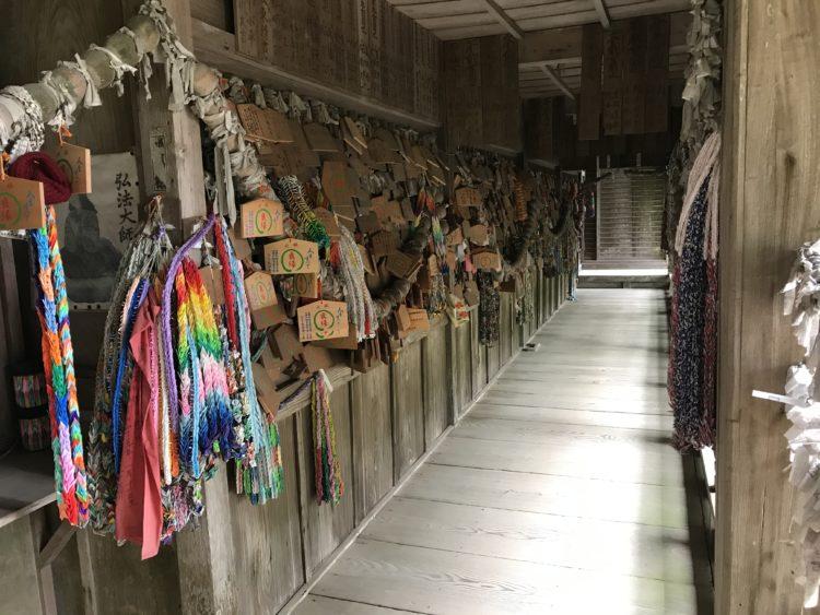 大山寺へ縁結び祈願に来られる参拝者の数