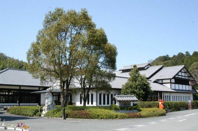 愛媛県にある「五十崎凧博物館」の外観
