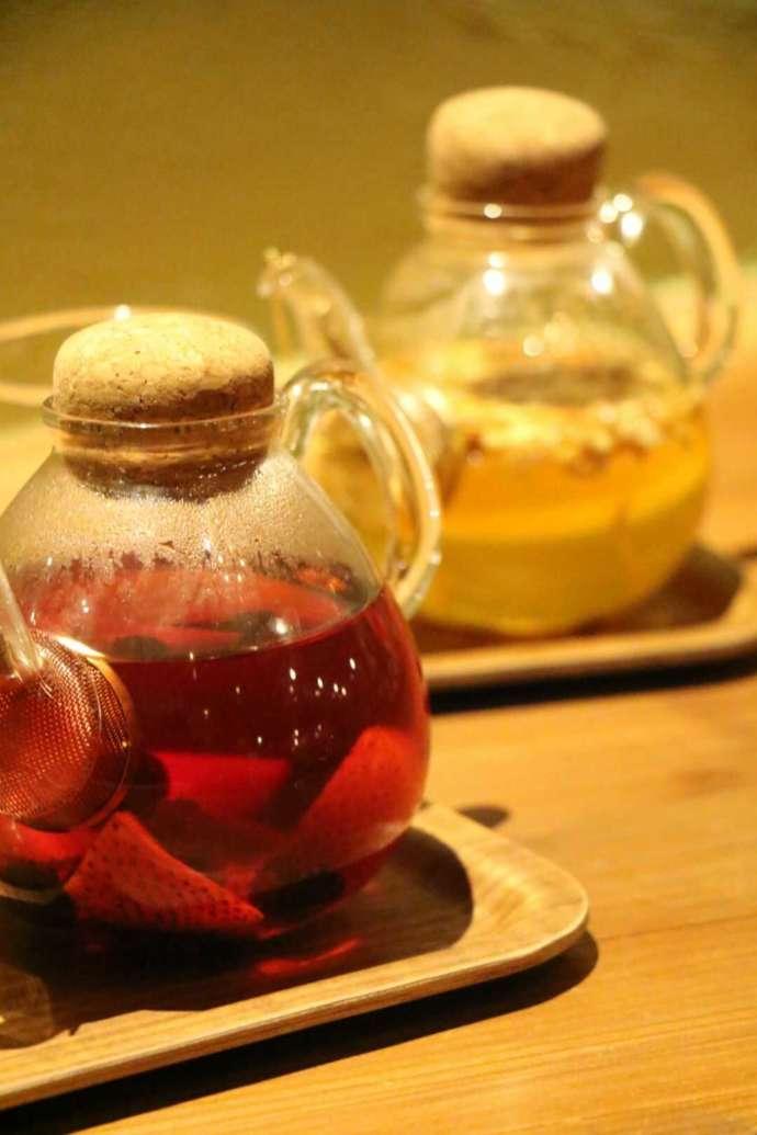 ティーハウスはっぱの紅茶ポット