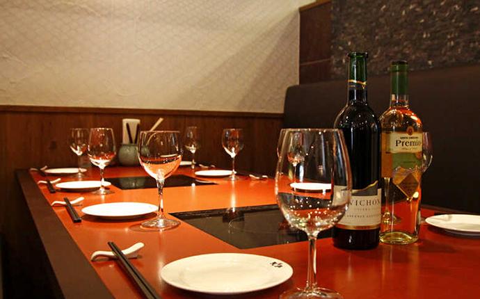 天丹 銀座本店のワイン