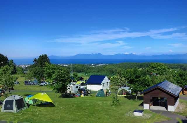 北海道網走市にある「北海道立オホーツク公園」のプライベートサイト