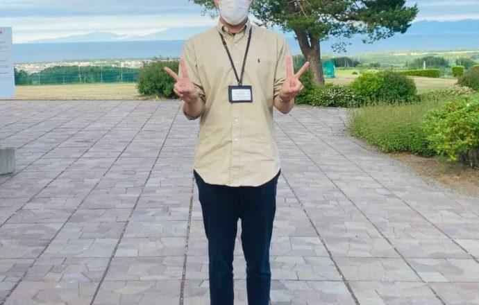北海道網走市にある「北海道立オホーツク公園」の公園課主事 広報担当を務める山﨑和博さん