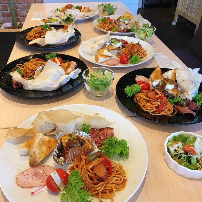 神奈川県大和市にあるザ・ハミングスプーンのカフェメニュー