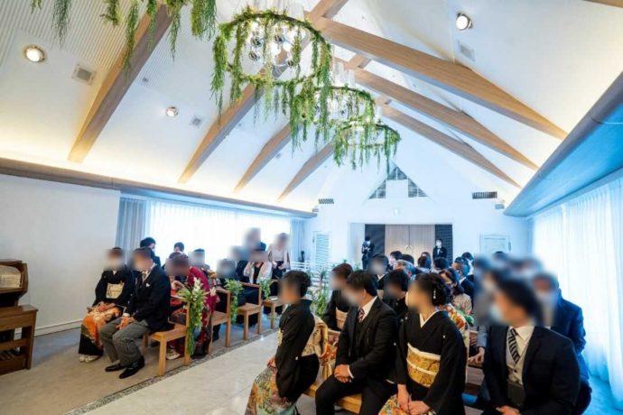 ザ・ニューホテル熊本のチャペルの内観