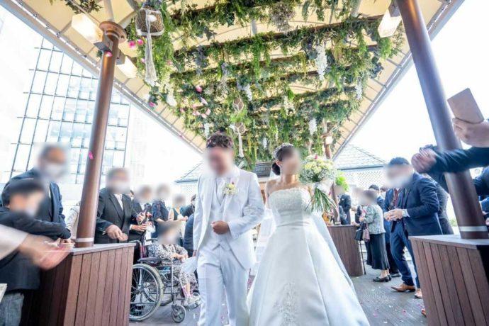 ザ・ニューホテル熊本の光あふれるガーデン