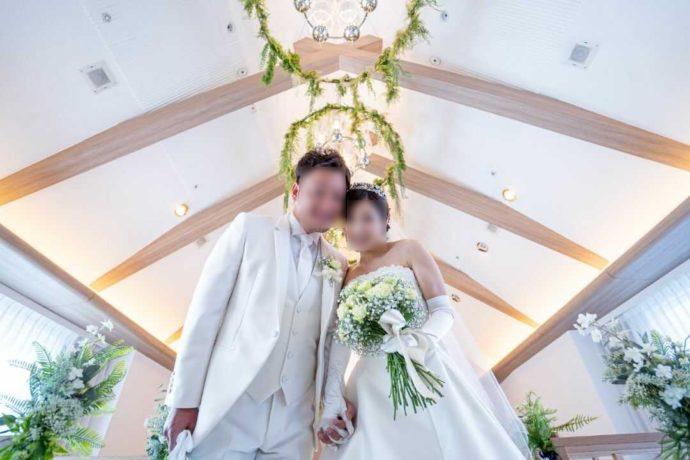 ザ・ニューホテル熊本で挙式する新郎新婦