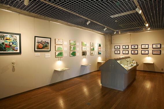 戸田幸四郎絵本美術館の展示室