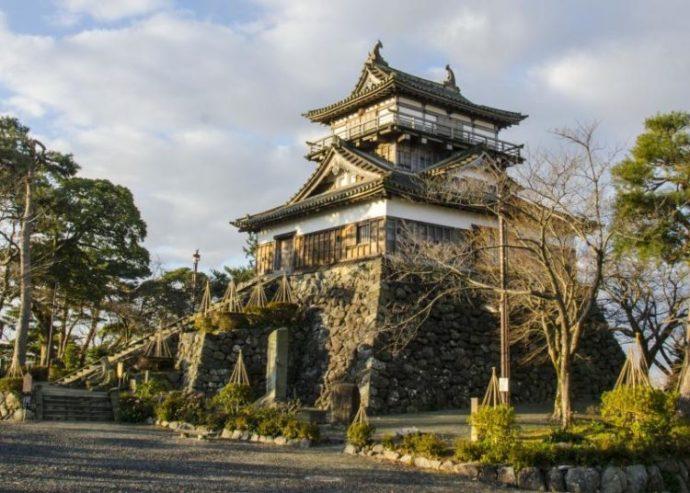 福井県坂井市の観光スポットである丸岡城