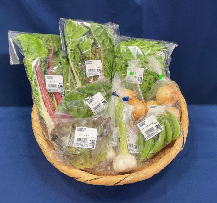 福井県坂井市アンテナショップで購入できる地元野菜