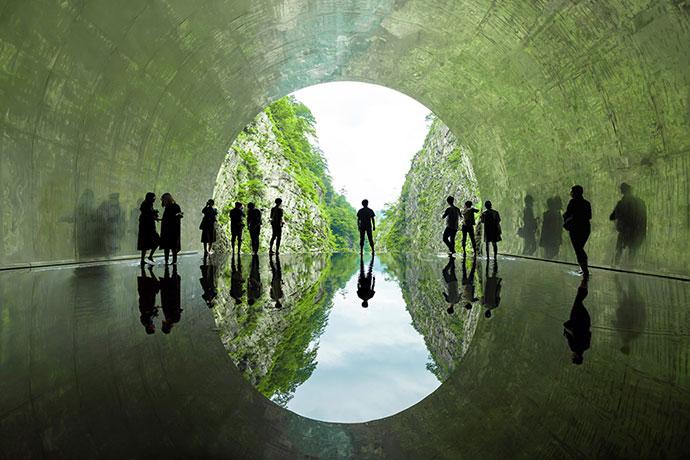 マ・ヤンソン/MADアーキテクツ「Tunnel of Light」Photo by Nakamura Osamamu