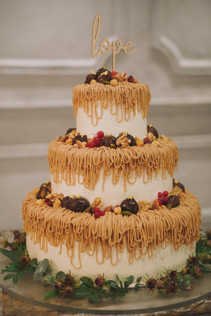 TRUNK BY SHOTO GALLERYで提供されたウェディングケーキ