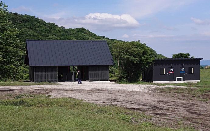 内山牧場キャンプ場のサニタリー棟