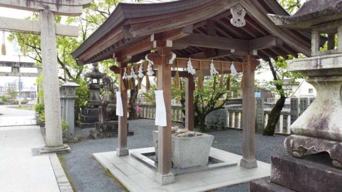 宇原神社の手水舎