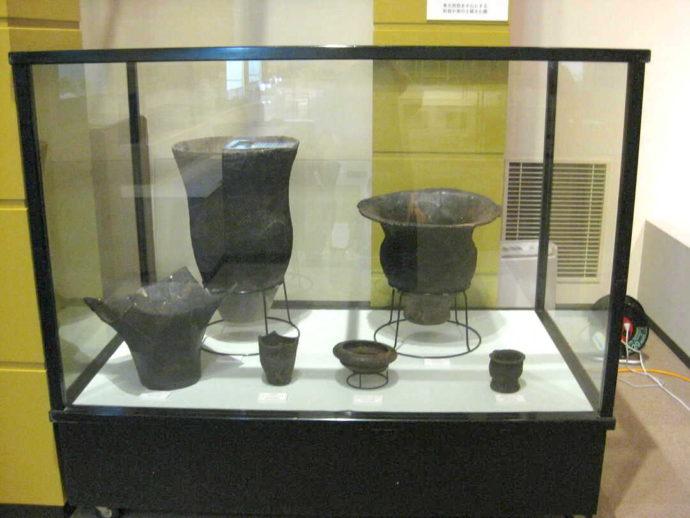 「山形県立うきたむ風土記の丘考古資料館」の展示物