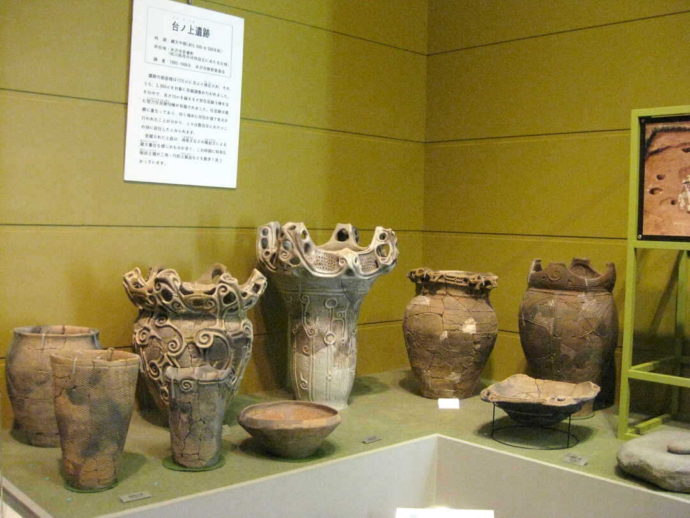 うきたむ風土記の丘考古資料館で鑑賞できる台ノ上遺跡に関する展示品