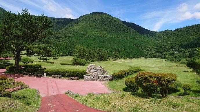 雲仙ゴルフ場は自然に溢れていて気持ちよくプレーできる
