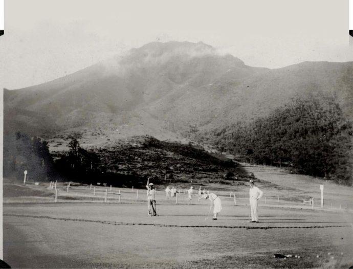 大正時代にオープンした雲仙ゴルフ場