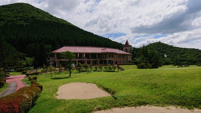 雲仙ゴルフ場のクラブハウス