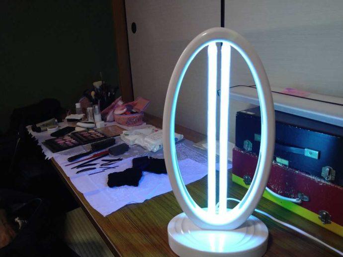 ウェディング絆で使われている紫外線消毒器