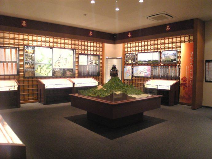若狭国吉城歴史資料館の常設展示室