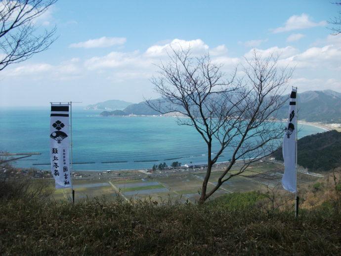 国吉城跡からの眺望