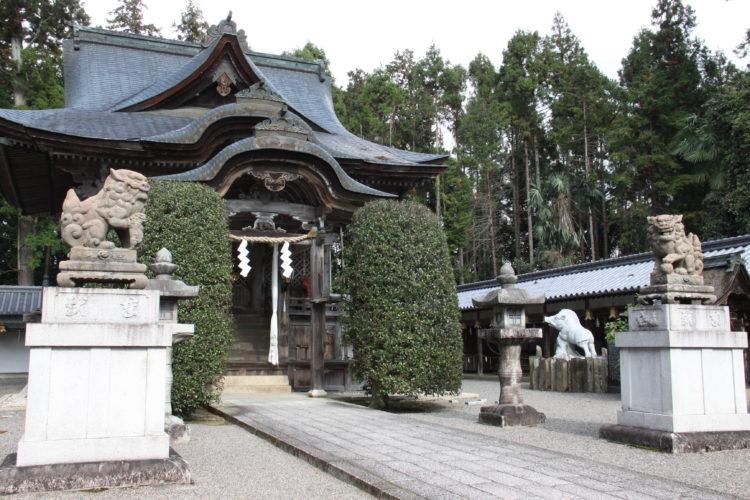 馬見岡綿向神社の歴史・見どころについて