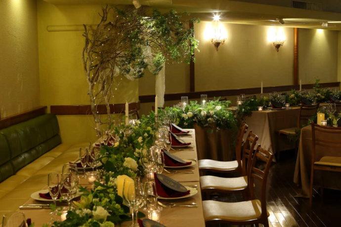 「イタリア料理ラ・ヴィータ」でのレストランウエディング