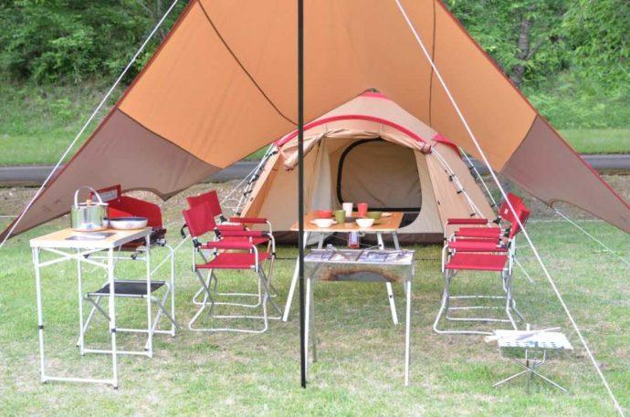 丹波篠山キャンプ場 やまもりサーキットの人気プラン「手ぶらセット」